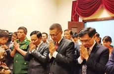 Comité del Partido Comunista de Vietnam en Camboya rinde homenaje a Ho Chi Minh