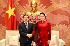 Vietnam y Laos intensifican cooperación legislativa