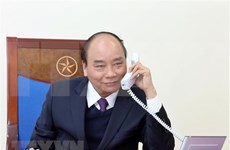 Primer ministro de Vietnam sostiene conversión telefónica con presidente indonesio