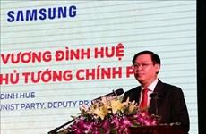 Vietnam impulsa desarrollo de industrias de apoyo, afirma su viceprimer ministro
