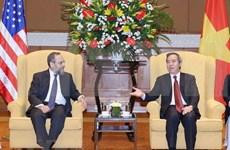 Vietnam reitera disposición de agilizar lazos con Estados Unidos en infraestructura y energía