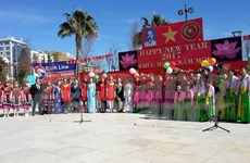 Festejan vietnamitas en Chipre el Tet tradicional