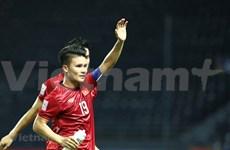 Sobresalen tres futbolistas en lista de Forbes Vietnam