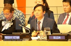 Respalda Vietnam fortalecimiento de lazos entre organismos de seguridad de Europa y ONU