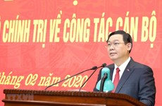 Designan a nuevo secretario del Comité del Partido Comunista en Hanoi