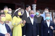 Inspecciona premier de Vietnam lucha contra coronavirus en provincia central