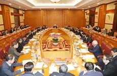 Exhortan a perfeccionar documentos del XIII Congreso del Partido Comunista de Vietnam