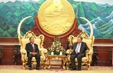 Máximo dirigente de Laos inicia visita estatal a Camboya
