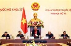 Sesiona reunión 42 del Comité Permanente del Parlamento de Vietnam