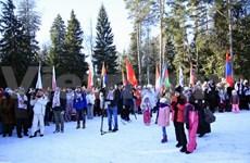 Participa Embajada de Vietnam en Rusia en los Juegos Diplomáticos de Invierno
