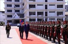Ministro de Seguridad Pública de Vietnam realiza visita a Laos
