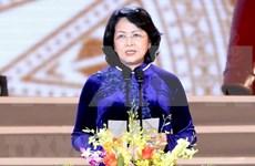 Vicepresidenta de Vietnam visita la India