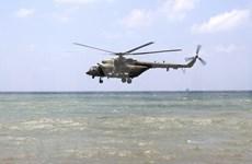 Halla Indonesia restos de víctimas en helicóptero militar desaparecido
