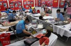 COVID-19: Jóvenes en Ciudad Ho Chi Minh realizan campaña de donación de sangre
