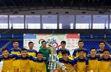 Selección vietnamita de fútbol de sala derrota 6-2 al club español Málaga