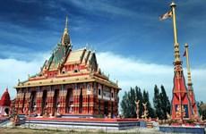 La pagoda Ghositaram, museo de arte en provincia vietnamita de Bac Lieu