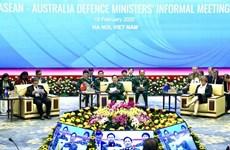 Celebran reunión extraoficial de ministros de Defensa ASEAN-Australia