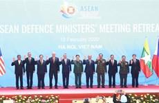Emiten Declaración Conjunta de ministros de Defensa de ASEAN sobre cooperación contra COVID-19