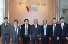 Premier vietnamita destaca contribuciones de radioemisora nacional en trabajo informativo