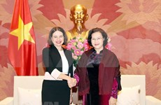 Aboga presidenta del Parlamento de Vietnam por impulso de cooperación integral con Australia
