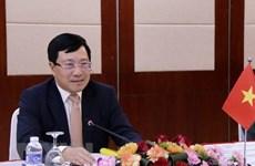 Asiste canciller de Vietnam a reunión especial de ASEAN sobre COVID-19