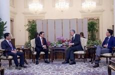 Aspira Singapur a promover cooperación multifacética con Vietnam