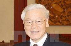 Dirigentes vietnamitas felicitan al emperador japonés en ocasión de su cumpleaños