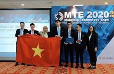 Estudiantes vietnamitas ganan medalla en concurso internacional de innovación en Malasia