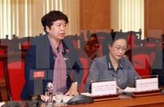 Dirigente parlamentaria elogia esfuerzos de Vinh Phuc en lucha contra coronavirus