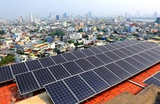 Más de mil empresas industriales en Ciudad Ho Chi Minh desarrollan energía solar en azotea