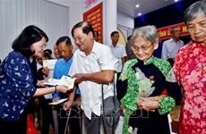 Visita vicepresidenta de Vietnam provincia más meridional del país