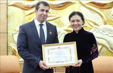 Destacan labor del embajador de Azerbaiyán en Vietnam