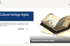 ASEAN lanza sitio web del Archivo Digital del Patrimonio Cultural