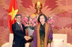 Reafirma Asamblea Nacional de Vietnam cooperación con Parlamento de la India