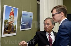 Exponen en Rusia fotos de la Agencia Vietnamita de Noticias
