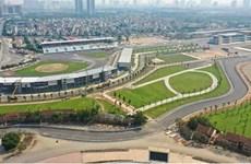 Completan construcción de pista de F1 en Hanói