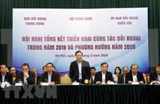 Vietnam por fortalecer labores de relaciones exteriores