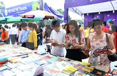Celebrarán numerosas actividades para promover cultura lectora en Hanoi