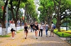 Crece número de turistas de Europa a Hanoi en febrero