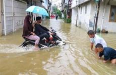 Indonesia invierte casi 1,5 millones de dólares para reducir riesgo de inundación