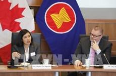 ASEAN y Canadá estudian la firma de Tratado de Libre Comercio bilateral