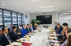 Vietnam promueve cooperación ASEAN-EE.UU. en comercio y finanzas