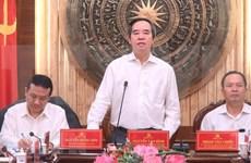 Provincia vietnamita de Thanh Hoa proyecta impulsar desarrollo de región central