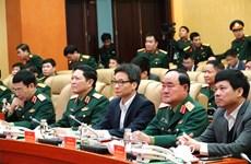 Realiza Ministerio de Defensa de Vietnam mayor ensayo de prevención de COVID-19
