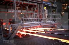 Empresa vietnamita exporta cerca de 205 mil toneladas de acero en febrero