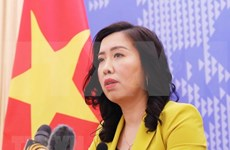 Visita de buques estadounidenses a Vietnam impulsa nexos bilaterales, afirma la portavoz de Cancillería