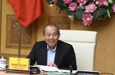 Vietnam por fortalecer lucha contra el terrorismo y el lavado de dinero