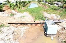 Delta del Mekong en Vietnam por contrarrestar efectos de sequía y salinización