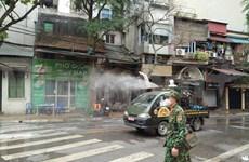 Urgen medidas para contener la propagación de COVID-19 en Hanoi