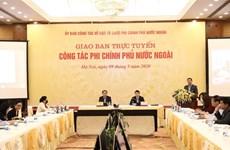 Analizan en Vietnam labores relacionadas con organizaciones no gubernamentales extranjeras